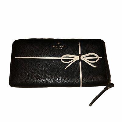 KATE SPADE Black Bow Wallet