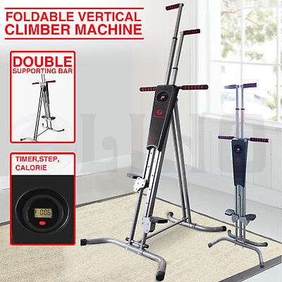 New Vertical Climber Machine Exercise Equipment Stepper Cardio Fitness Gym