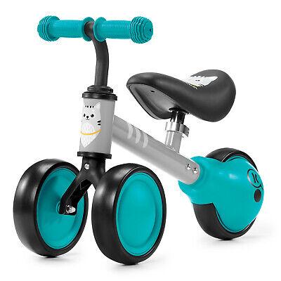 Kinderkraft Bici sin Pedales CUTIE Infantil Cuadro Bajo Sillín Blando Turquesa