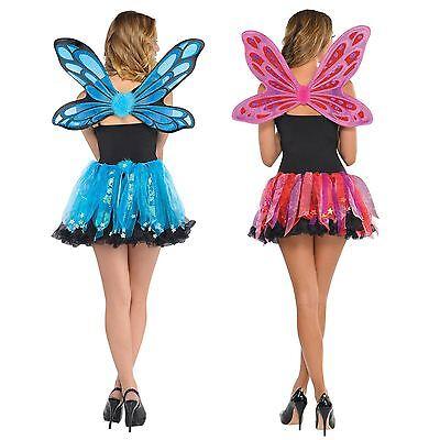 Ladies Pixie Wings & Skirt Costume Set Fairy Magical Creature Halloween - Elf Magic Halloween Costumes