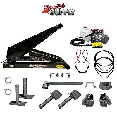 8 Ton 16000 Lb Dump Trailer Hydraulic Scissor Hoist Kit Ph516 - Power Hoist