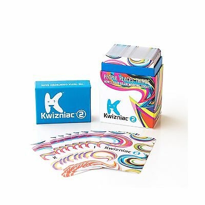 Kwizniac 2 Card Game Free Shipping