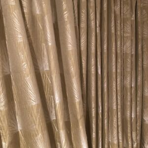 Custom Made Curtains w/ Blackout Lining 9ft