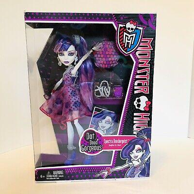 Monster High Dot Dead Gorgeous Spectra Vondergeist Doll Mattel 2011 Toys Figure