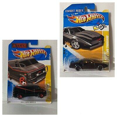 Hot Wheels A-team Van & Kitt Knight Rider! New Models Get Both! 2011