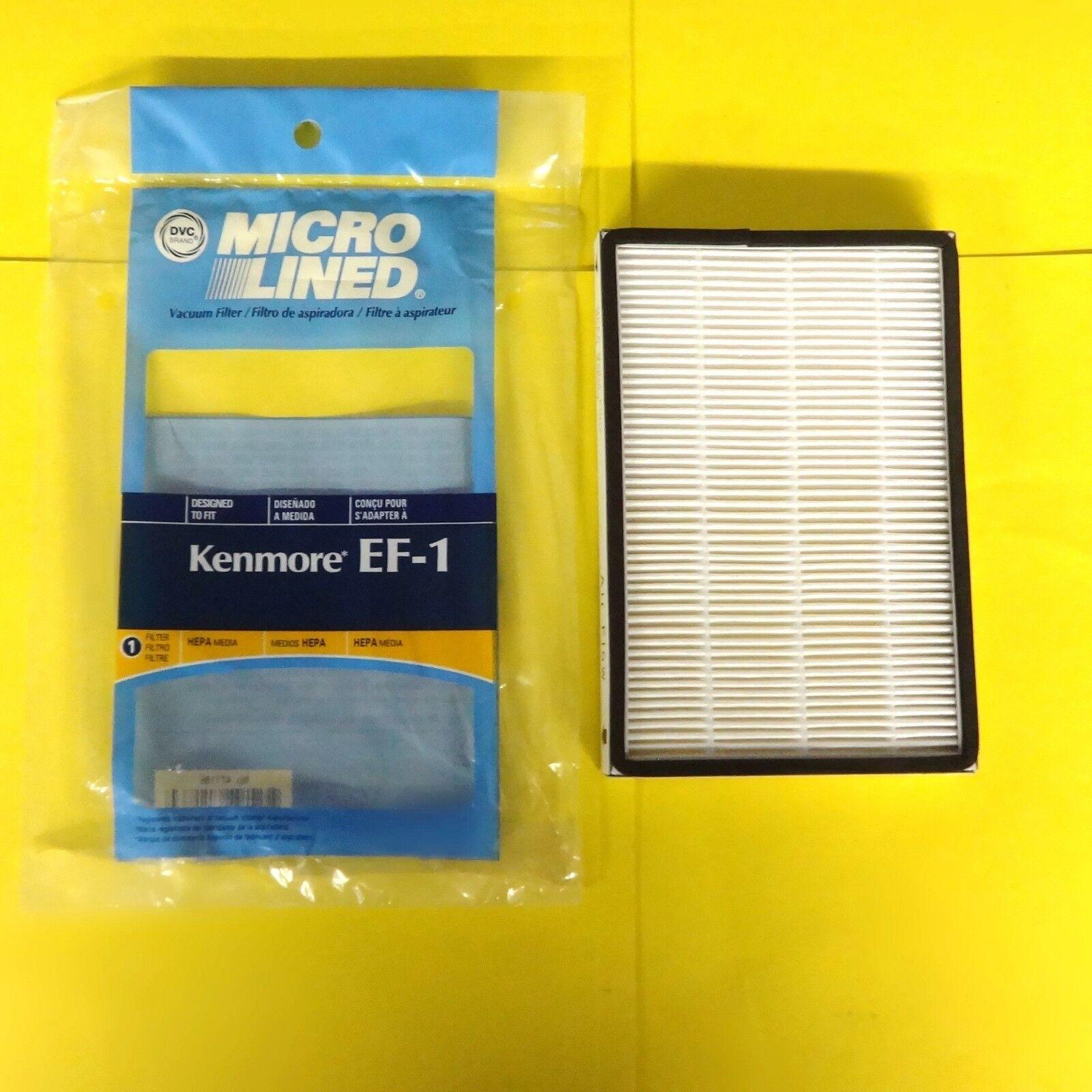 Kenmore Vacuum Filter EF-1  86889 EF-1 Exhaust HEPA