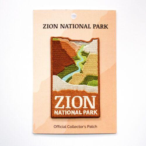 Official Zion National Park Souvenir Patch Utah Iron on