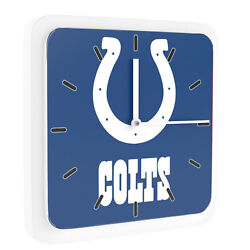 New 3 in 1 NFL Indianapolis Colts Home Office Decor Wall Desk Magnet Clock 6
