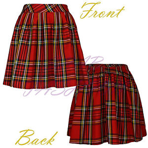 Ladies/Womens Tartan Skirt