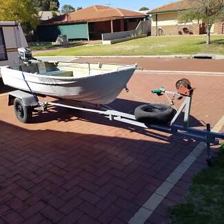 12 dinghy trailer fully refurbished unlicenced