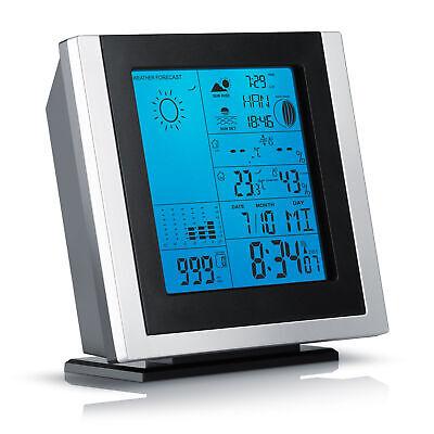 Brandson Funk Wetterstation inkl. Außensensor | Hygrometer / Barometer / Wecker ()