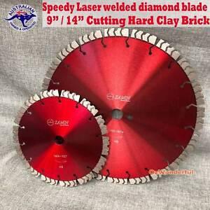 SPEEDY Laser Welded Masonry Diamond Saw Blade CUT Hard Brick Epping Whittlesea Area Preview