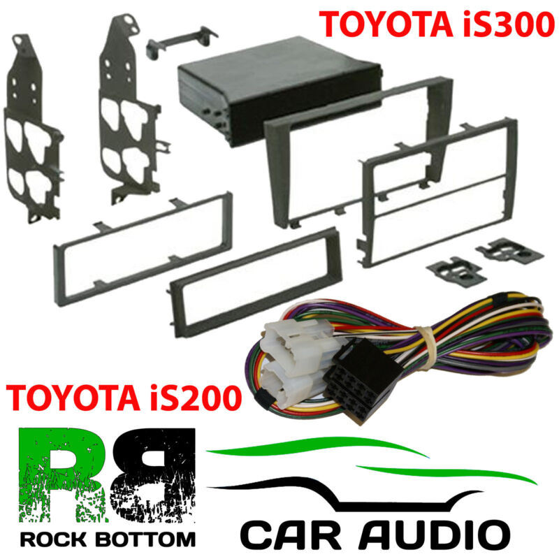 CT24LX01 Lexus IS200 98-03 Single or D/ Din Car Stereo Fascia & Amp By-pass Kit