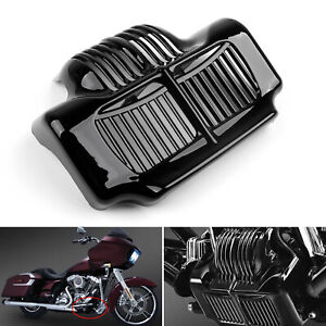 Stock Oil Cooler Cover Fit 11-15 Harley Touring Electra Road Street Glide BLK A7