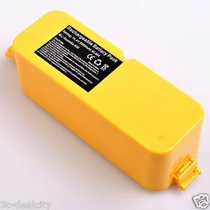 14.4V 3500mAh Vacuum Battery For iRobot Roomba 400 4000 4905 Discovery Series