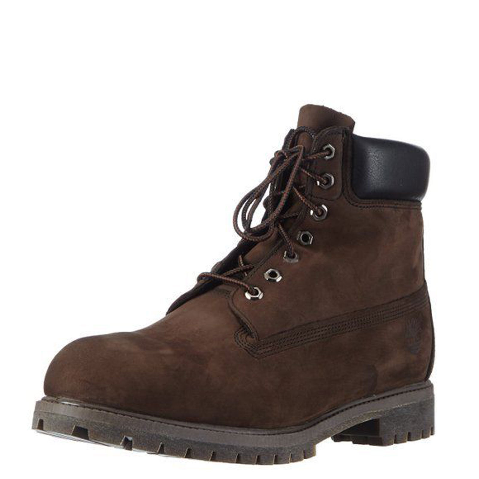 Timberland 6 Inch Premium Dark Brown Men's Waterproof Boots 10001