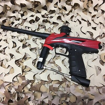 Used  Gog Enmey  50 Caliber Mechanical Paintball Gun Marker   Racer Red