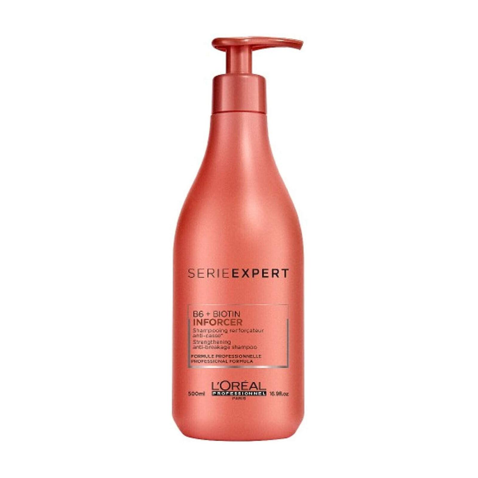 Loreal Serie Expert B6 + Biotin Inforcer Shampoo gegen Haarbruch 500 ml