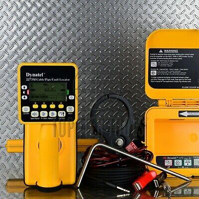 Dynatel 3m 2273m 3-watt Cablepipe Locator Underground Utility Cps Fault Finder
