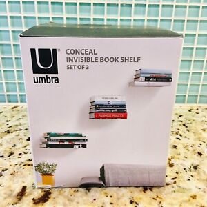 New In Box: Umbra Conceal Invisible Floating Bookshelves