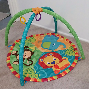 Bright starts baby play gym/activity centre Bethania Logan Area Preview