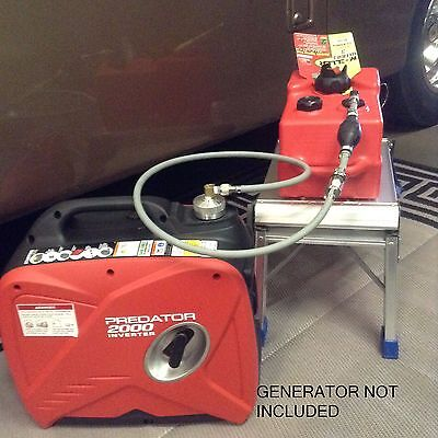 Predator 2000 Watt Inverter Generator 3 Gallon Extended Run Fuel System
