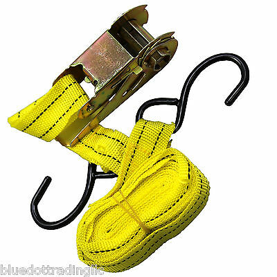 Yellow Jacket 13 Ratchet Tie Down Capacity Strap Tool Car Truck