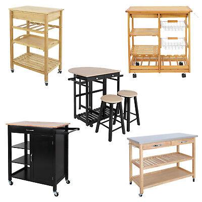 Modern Kitchen Island (Kitchen Cart Island Rolling Home Dining Wooden Trolley Storage Modern Cabinet )