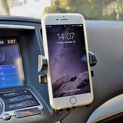 Plus Phone Cradle - Car Air Vent Mount Cradle Cell Phone Holder Stand for Apple iPhone 7 8 X Plus