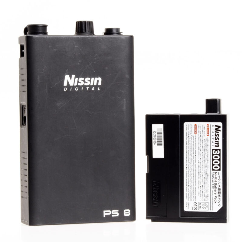 Canon Nissin PS 8 Power Pack Battery NDPS8C