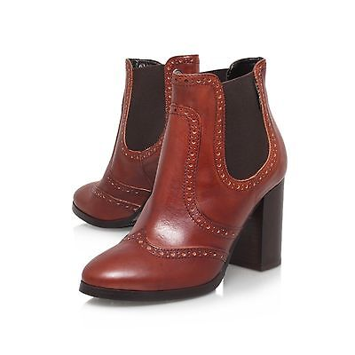 CARVELA CHELSEA BOOTS / RRP £160 / TAN  LEATHER  UK 7 / EU 40  DISCOUNT IN - Discount Party Store