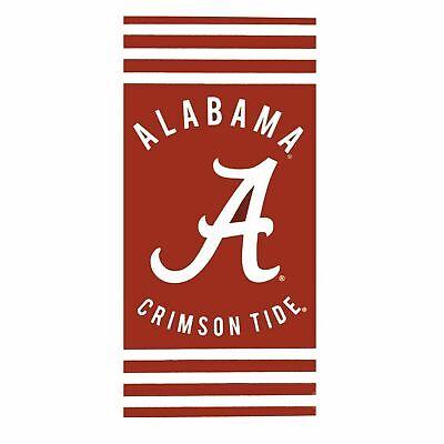 Alabama Crimson Tide Towel - NCAA Alabama Crimson Tide Logo Cotton Beach Towel 30