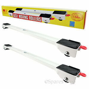 Heavy Appliance Wheels Mobility Roller Trolley Arms Pair Washing Machine Stand Ebay