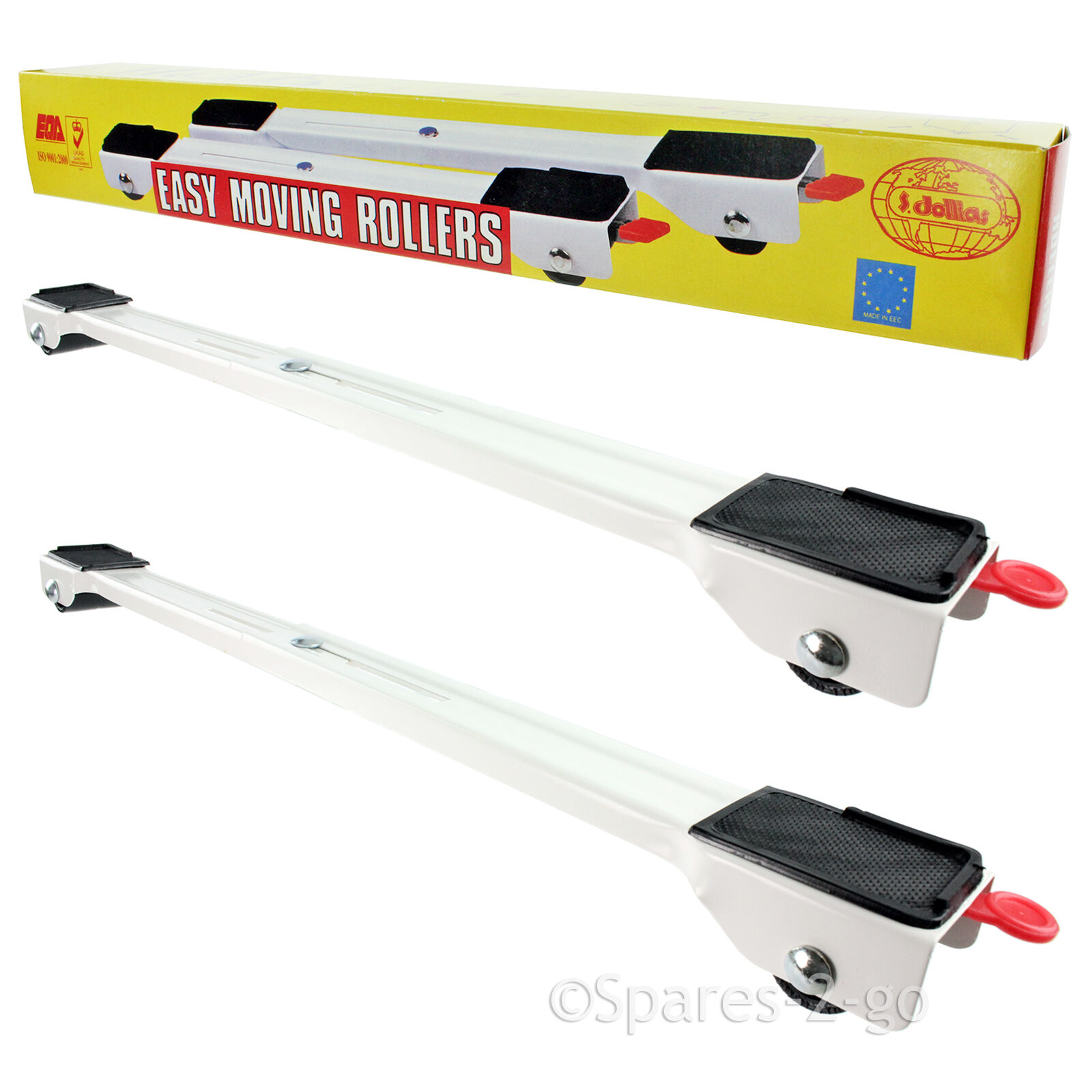 UNIVERSAL Dishwasher Appliance Wheels Adjustable Trolley Roller Extendable Stand
