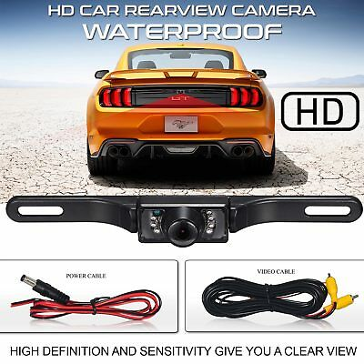 Car Rear View Backup Camera Parking Reverse Back Up Camera 7Led Waterproof Cmos
