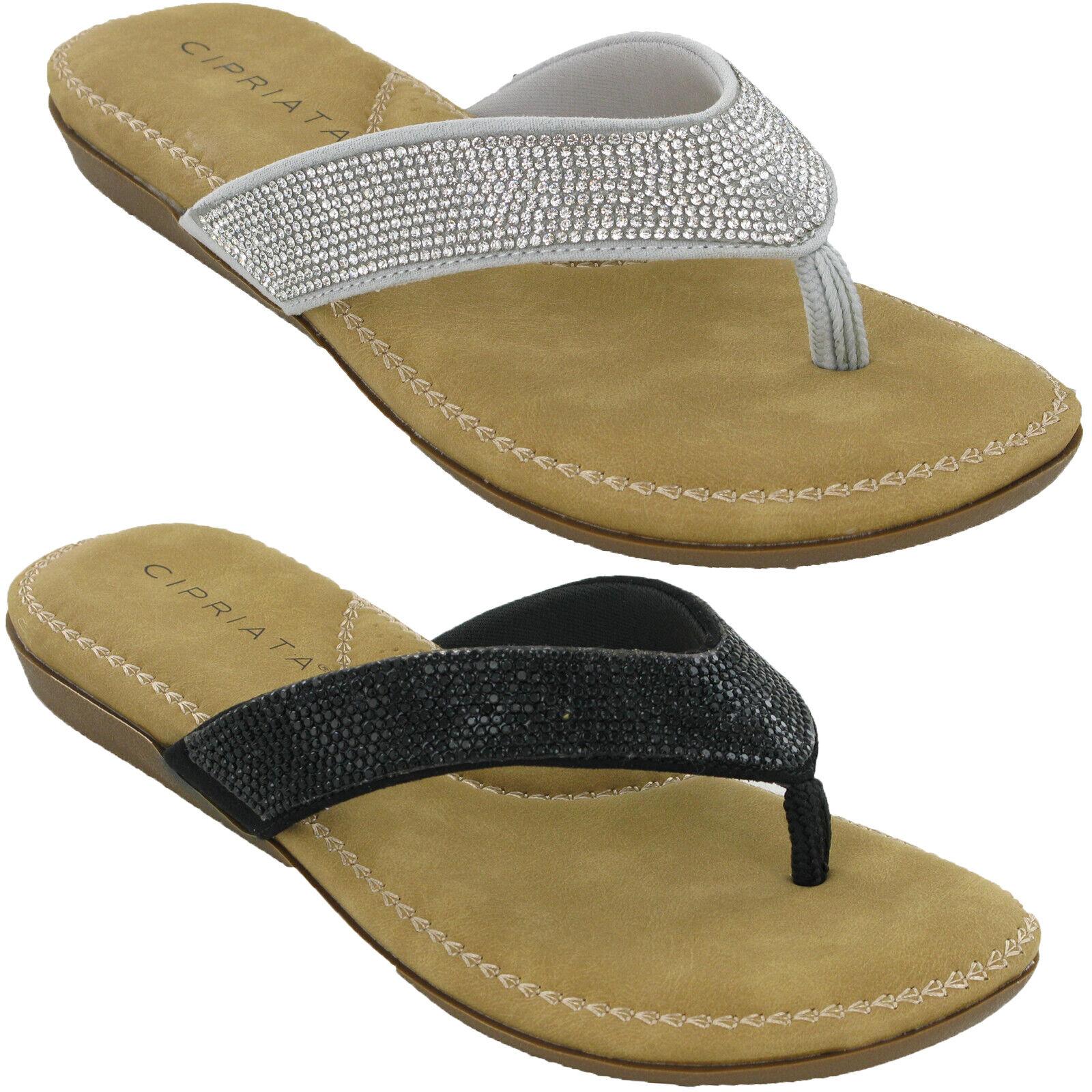 Women Back Sling Toe Post Summer Sandal UK Size 3-8 New Casual
