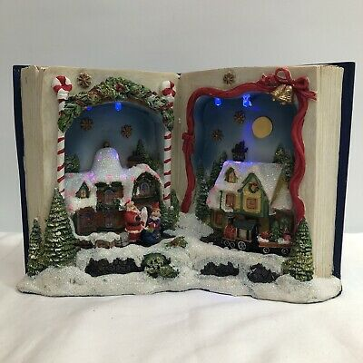 Book Shape LED Village With Musical by Forever Gifts, 2010