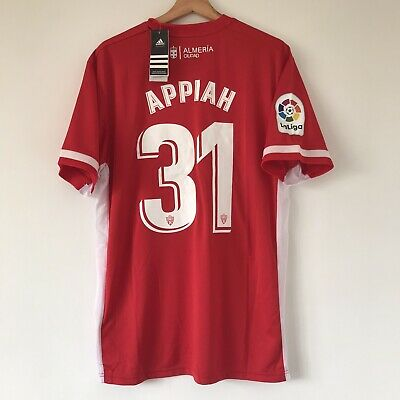UD ALMERÍA HOME FOOTBALL SHIRT 2019/20 ARVIN APPIAH 31 LARGE image