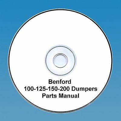 Benford 100 - 125 - 150 - 200 Swing Dumpers - Parts Manual