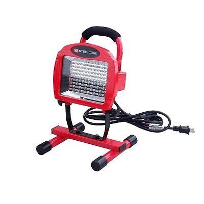 Steel Core 108 LED Portable Work Light Super Bright Garage Shop Job Site Light