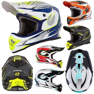 O'Neal 3Series Riff Motocross Motorrad MX Helm Bike FMX Enduro Cross Offroad