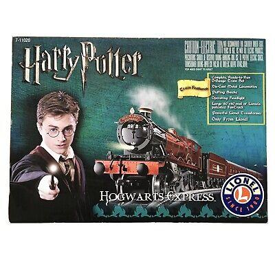 Lionel Harry Potter Hogwarts Express O Gauge Train Set 7-11020 EUC