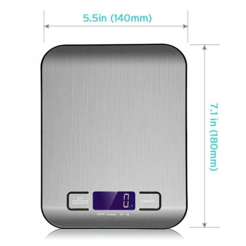 11LB 5KG/1G Digital Electronic Kitchen Food Diet Postal Scale Weight Balance