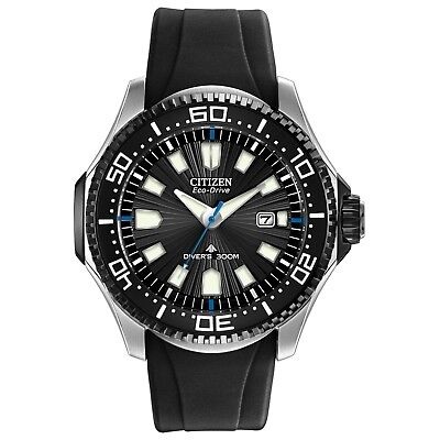 Citizen Eco-Drive Promaster Diver Men's Black Poly Band 47mm Watch BN0085-01E