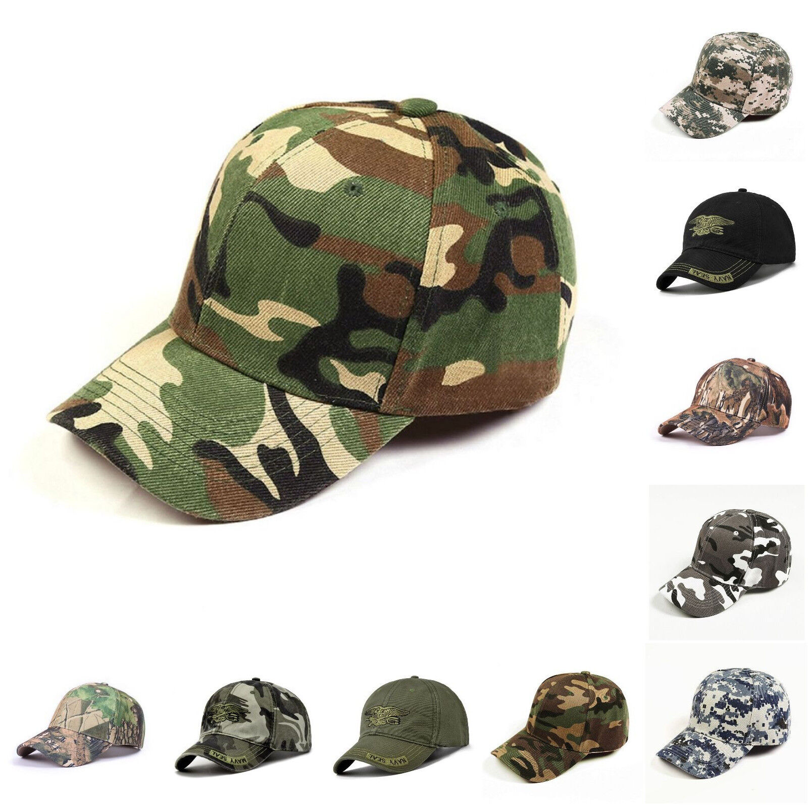 31788356 Men Baseball Cap Condor Tactical Style Military Hunting Hiking Outdoor Army  Hat