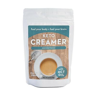 360 Nutrition Keto Creamer w/ MCT OIL UnSweetened 6 oz Best Before 2-2020 (Best Powdered Coffee Creamer)