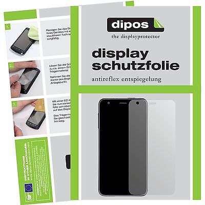 6x Panasonic Lumix DMC-LX15 Schutzfolie matt Displayschutzfolie Folie dipos