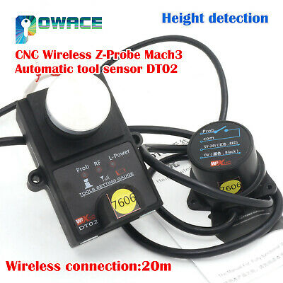 Dt02 Height Detection Universal Cnc Wireless Z-probe Mach3 Automatic Tool Sensor