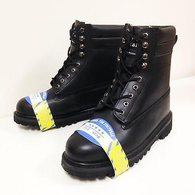 Men's Steel Toe Work Boots 8
