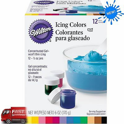 Icing Colors Assorted - 4 oz.